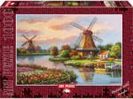 Art Puzzle 1000 db-os puzzle - Szélmalmok, Sung Kim (4354)