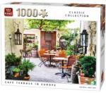 King Kávézó terasz Európában 1000db-os puzzle (05670)