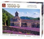 King Senanque kolostor, Franciaország 1000db-os puzzle (05663)