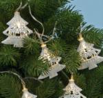 Home Beltéri LED-es fenyő fényfüzér - meleg fehér (KLM 30/T)