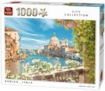 King Velencei látkép, Olaszország 1000db-os puzzle (05657)