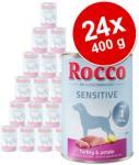 Rocco Sensitive Turkey & Potato 24x400g