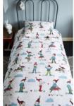 BeddingHouse Lenjerie de pat copii cu spiridusi Lenjerie de pat