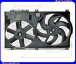 Citroen JUMPER 2 2002.01-2006.06 /244/ Hűtőventilátor komplett, 2 ventilátor+keret 0504.1194