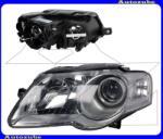 """VW PASSAT B6 2005.03-2010.10 /3C/ Fényszóró bal króm házas (2xH7) motorral """"Hella-Valeo típusú"""" TYC 20-0734-05-2"""