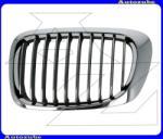 """BMW 3 E46 2001.09-2006.07 Hűtődíszrács bal, krómkeretes, fekete bordás 2003.03. -tól. """"COUPE/ CABRIO"""" UBA04-32403"""
