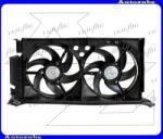 """Citroen ZX 1991.03-1997.12 Hűtőventilátor dupla, kerettel """"Diesel"""" (vezeték nélkül) V0903749"""