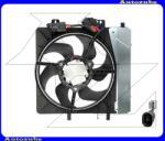 """Citroen C3 PLURIEL 2003.05-2010.07 Hűtőventilátor komplett """"1.4 8V, 1.4HDI, 1.6 16V"""" 0503.2006"""