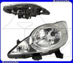 PEUGEOT 107 2005.03-2012.03 Fényszóró bal (H4) (motor nélkül) DEPO 550-1139L-LD-EM
