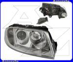 VW PASSAT B5 2000.11-2005.02 /3B/ Fényszóró jobb (2xH7) (motor nélkül) TYC 20-6243-05-2