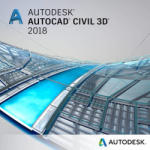 Autodesk AutoCAD Civil 3D 2018 Commercial, 1 an, 1 user, SPZD (237J1-WW1751-T362)