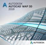 Autodesk AutoCAD Map 3D 2018 Commercial, 1 an, 1 user, SPZD (129J1-WW1751-T362)