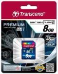 Transcend SDHC 8GB Class 10 TS8GSDU1