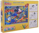 Mickey Mouse Puzzle 24 piese Mickey Puzzle