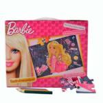 Barbie Puzzle in servieta Barbie (100 piese) Puzzle