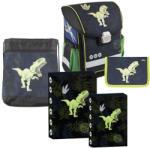 Rey Bag kompakt iskolatáska - 5 darabos készlet - REY BAG - DINOSZAURUSZ