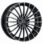 Mak Volare+ Black Mirror CB72 4/100 16x6.5 ET40