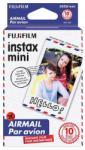 Fuji Fujifilm Colorfilm Instax Mini Glossy fotópapír (10/PK) AirMail