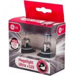 GE-Tungsram Megalight Ultra HB4 / 9006 halogén izzó +120%