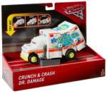 Mattel Verdák 3 - Crunch and Crash - deluxe Dr. Damage derbi járgány (FCT07)
