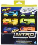Hasbro Nerf Nitro 6 darabos kisautó szett - többféle (C317)