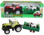 UNIKATOY Traktor vontatmánnyal - kétféle változatban