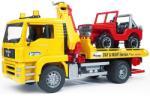 BRUDER MAN autószállító terepjáróval (02750)