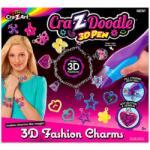 CRA-Z-ART Cra-Z-Doodle 3D divatékszer, függődísz készítő