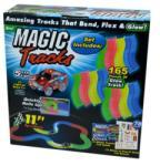 Magic Tracks Long - Mágikus autópálya, LED-es kisautóval