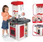 Smoby Bucătărie Tefal Studio roșu-alb (SM311003) Bucatarie copii