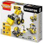 Engino Inventor Munkagépek - 8 az 1-ben építőjáték (0834)