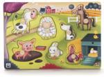 Eurekakids Puzzle de lemn cu sunete, Animale de la Fermă Puzzle