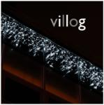 La Belle Kültéri villanó LED-es fényjégcsap 3m x 0, 5m fehér kábel, 114 meleg fehér LED (LEDILR-3x0.5M-114WF)