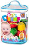 Clementoni Clemmy Baby 48 db-os puha építőkocka készlet (17134)