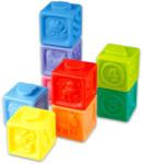 Playgo Puha szivárvány építőkockák