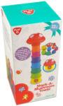 Playgo Gombás toronyépítő bébijáték