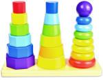 Tooky Toy Fa formaépítő torony (TKF008)