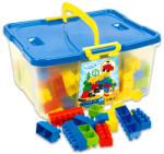 Mochtoys Combi Blocks 200 db műanyag építőkocka dobozban