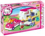 Androni Giocattoli Unico Plus Hello Kitty Lakókocsi - 47db-os építőkocka szett (8679)