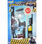 Globo Rendőrségi játékszett - 9 darabos (MOL-GL37513)