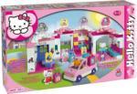 Androni Giocattoli Unico Plus Hello Kitty Bevásárlóközpont építőkocka szett, 140 db-os (8659)
