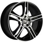 MSW 11 Black Full Polished CB73.1 4/108 15x7 ET42