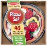 Melissa & Doug Set de pizza cu 40 piese (3974) Bucatarie copii