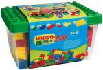 Androni Giocattoli Unico Plus 250 db-os Építőkocka szett műanyag tárolóban (8525)