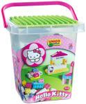 Androni Giocattoli Unico Plus Hello Kitty 104 db-os építőkocka szett vödörben (8662)