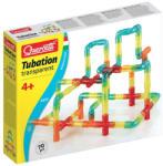 Quercetti Tubation 70 db-os átlátszó csőépítő játék szett