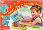 Playgo Tablă Magnetică Și De Desen Portabil
