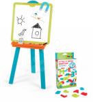 Smoby Tablă Magnetică Pentru Desenat Cu Două Fețe Copii 2in1 Litere Magnetice 28050