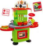 Mochtoys Chefs: játékkonyha fénnyel és hanggal - zöld-narancssárga 78cm