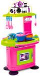 Mochtoys Chefs: játékkonyha 26 kiegészítővel - rózsaszín-zöld